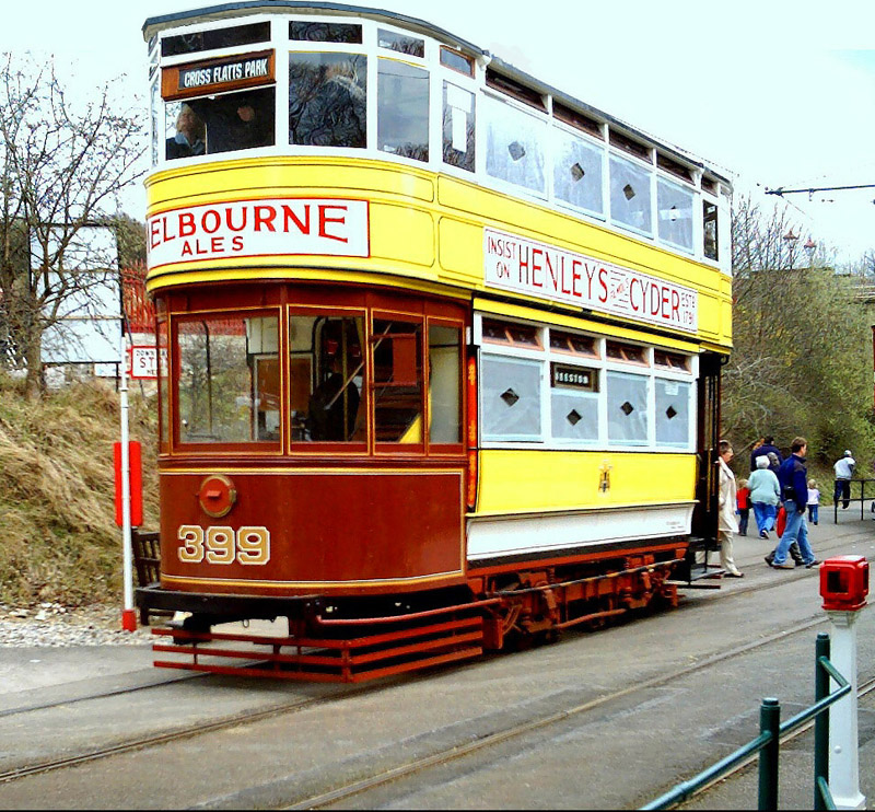 Crich Tramway Museum Derbyshire